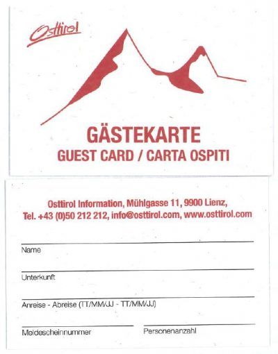 Gästekarte
